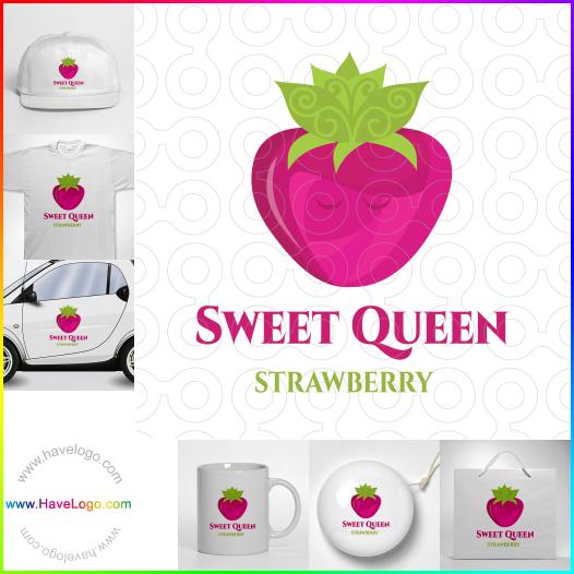 strawberry logo - ID:50453