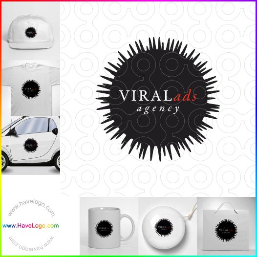 virus logo - ID:52864