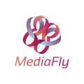 鮮花店Logo