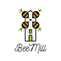 Bee Mill  logo