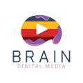 腦Logo