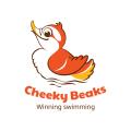 Cheeky Beaks  logo