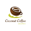 Coconut Coffee  logo