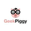 Geek Piggy  logo