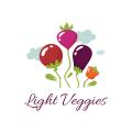 光蔬菜Logo