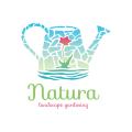 自然景觀Logo