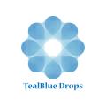 TealBlue Drops  logo