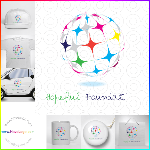 抽象logo設計 - ID:17655