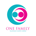 粉色Logo