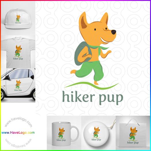 hiker logo - ID:17506