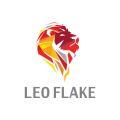 獅子座的鱗片Logo