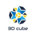 3D魔方Logo