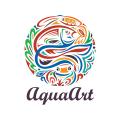 水的藝術Logo