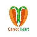 胡蘿蔔心Logo