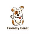 友好的野獸Logo