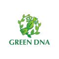 Green DNA  logo