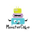 Monster Cake  logo