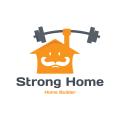 Strong Home  logo