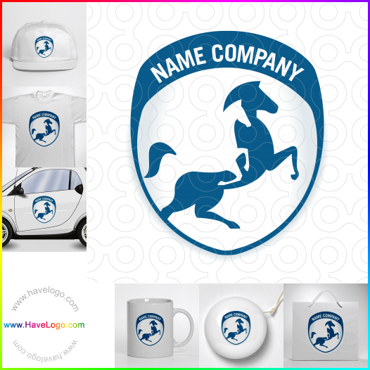 horse logo - ID:52860