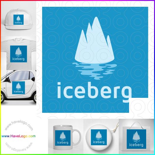 滑雪板logo設計 - ID:35446