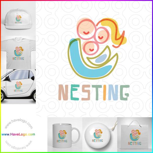 嬰兒logo - ID:51488
