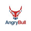 憤怒的公牛Logo