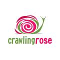 Crawling Rose  logo