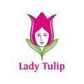 Lady Tulip  logo