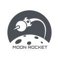 Moon Rocket  logo