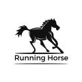奔跑的馬Logo
