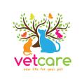 獸醫護理Logo