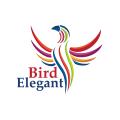 Eelegant Bird  logo