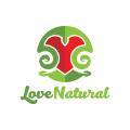 愛自然Logo