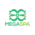 Mega Spa  logo