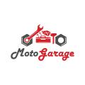 摩托車庫Logo