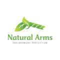 自然的懷抱Logo
