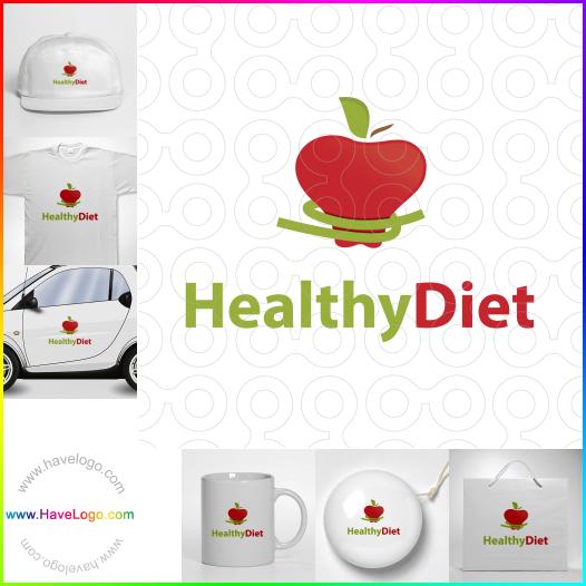 healthy logo - ID:55199