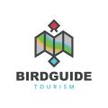 鳥導Logo