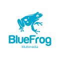 藍蛙Logo