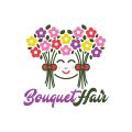 束頭髮Logo