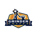 Grinder Coffee  logo