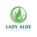 Lady Aloe Dermacare  logo