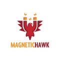 磁鷹Logo