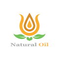 Natural Oil  logo