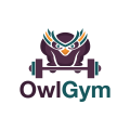 Owl Gym  logo