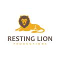 休息獅Logo