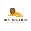 Resting Lion  logo