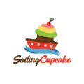 Sailing Cupcake  logo