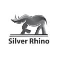 Silver Rhino  logo