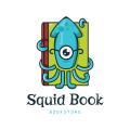 魷魚的書Logo